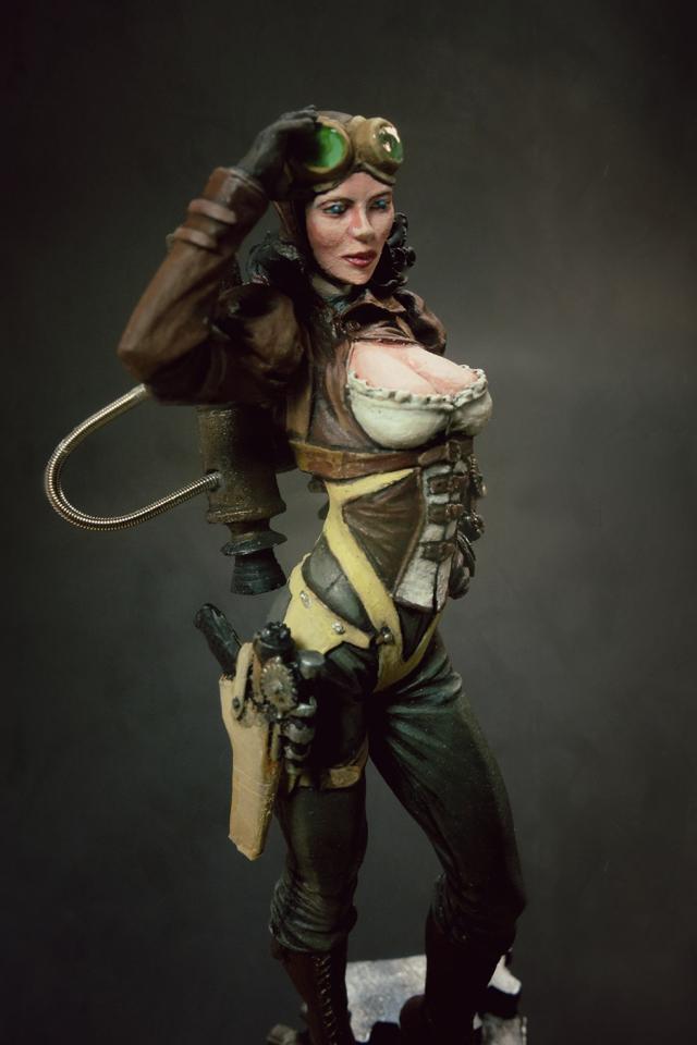 Female Steampunk Pirate