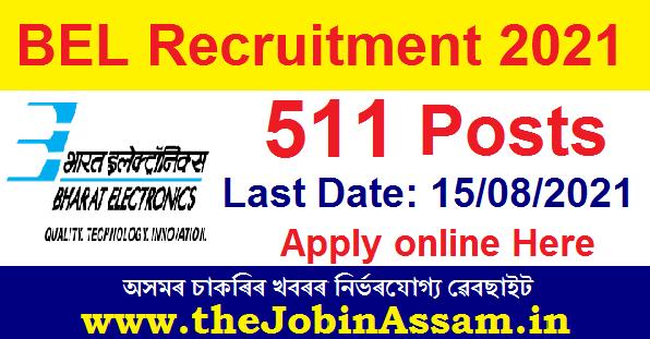 Bharat Electronics Limited (BEL) Recruitment