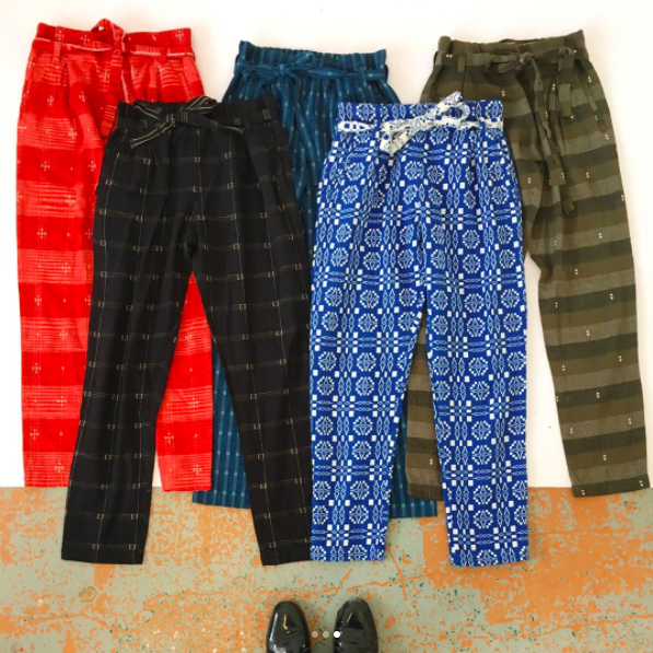 Ace & Jig Exclusive Stafford Pants - Cardinal, Black Magic, Union, Cardiff, Surplus