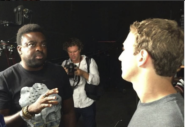 VIDEO: Kunle Afolayan One On One With Mark Zuckerberg