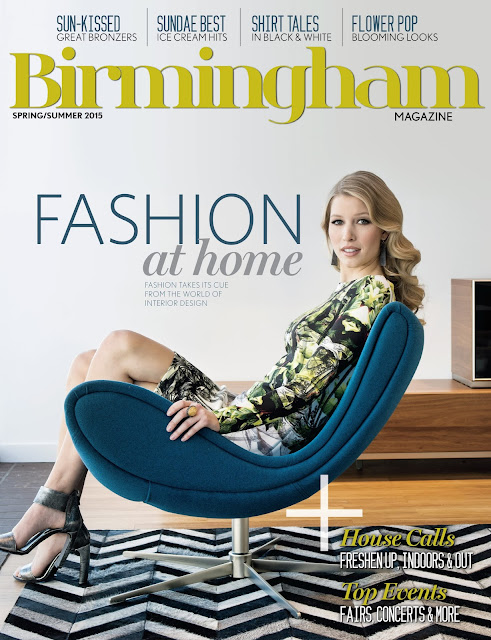 Birmingham Magazine Spring fashion shoot