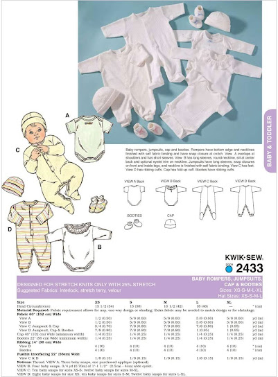 Preemie Baby Clothes Patterns