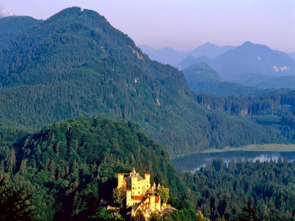 Ludwig of Bavaria: HOHENSCHWANGAU, NEUSCHWANSTEIN ...