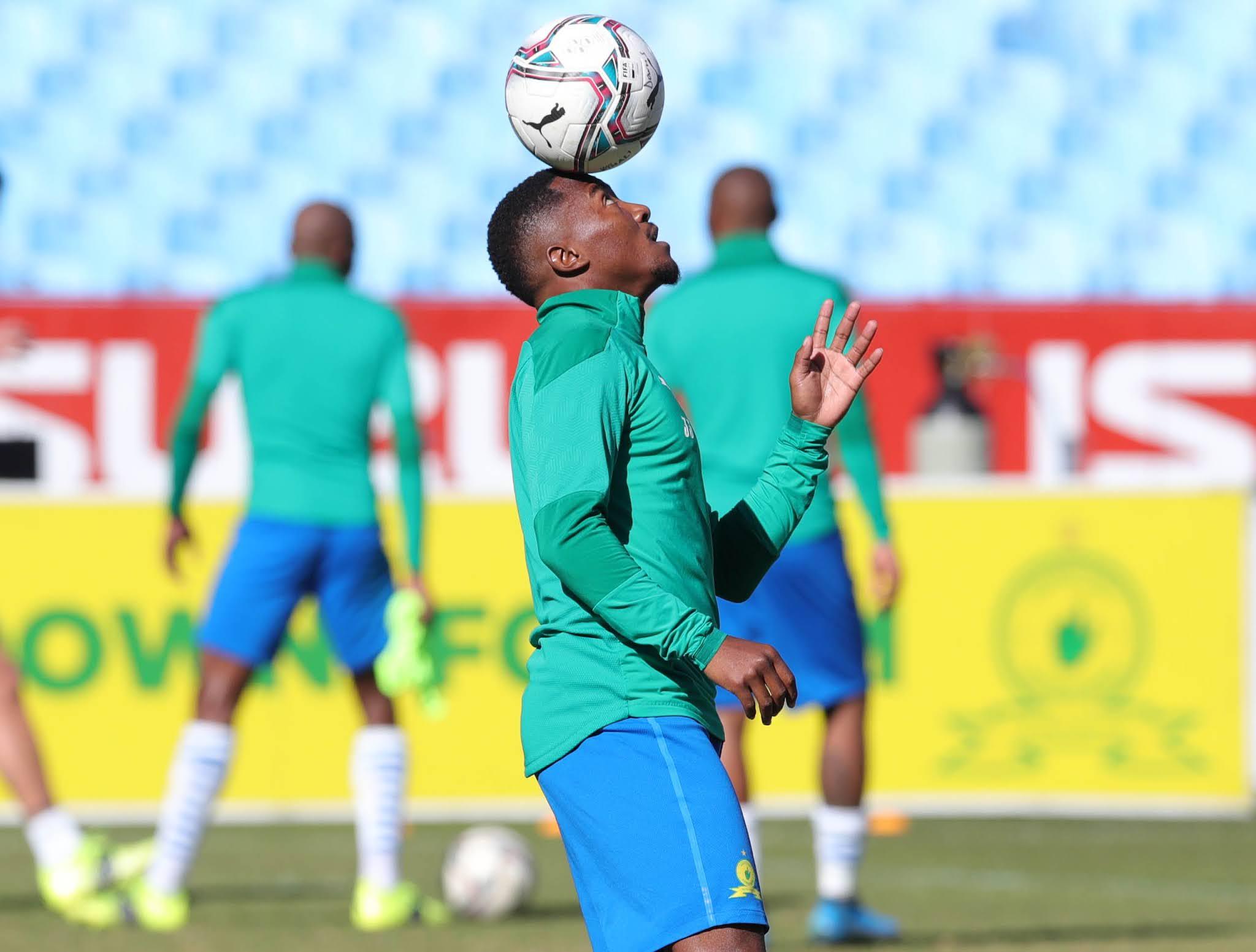 Mamelodi Sundowns attacker Lebohang Maboe