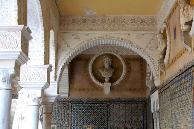 Innenhof Casa de Pilatos in Sevilla