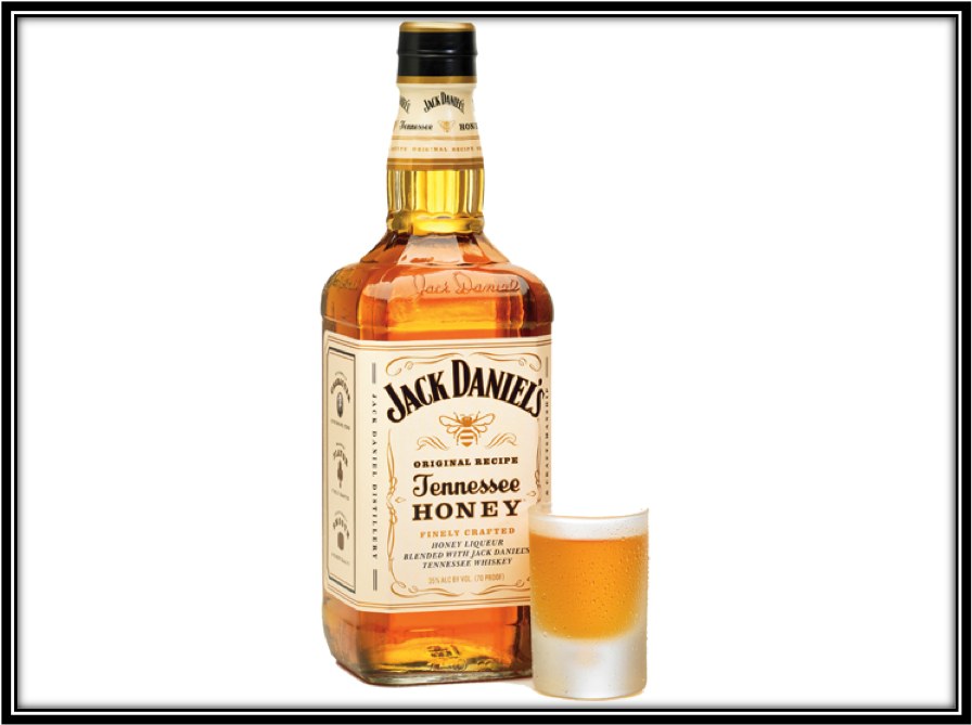It's just a picture of Old Fashioned Jack Daniels Honey Label