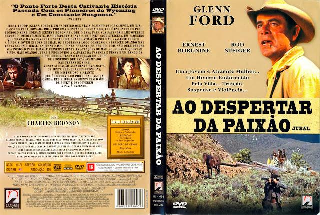 Capa DVD Ao Despertar da Paixão