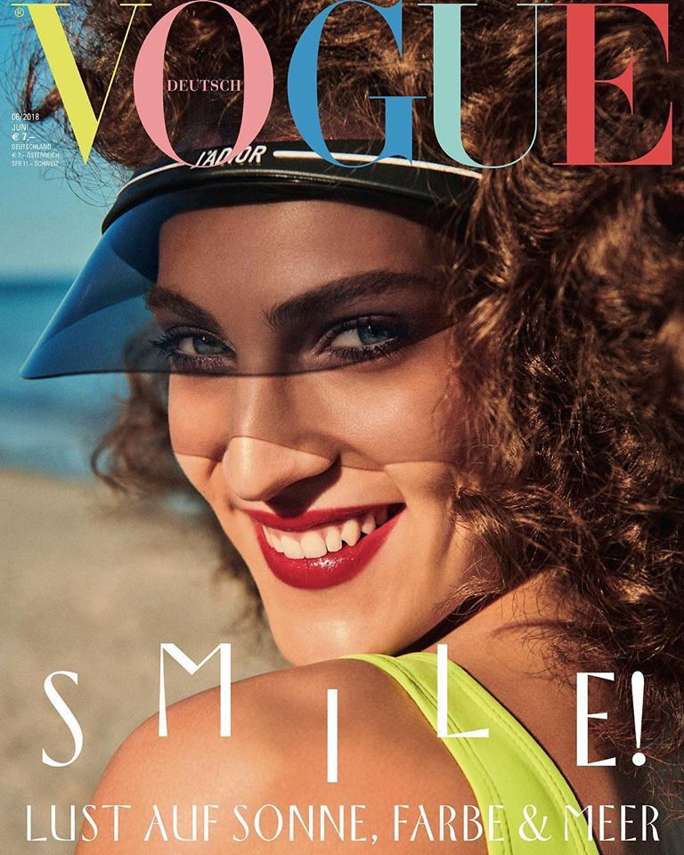 Othilia Simon covers Vogue Germany June 2018