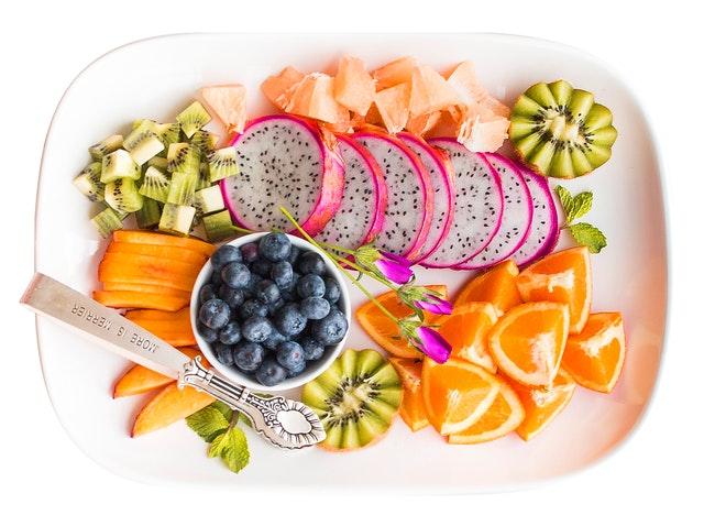 Good Food Health Vitamin Intake