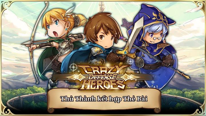 Crazy Defense Heroes: Anh Hùng Tháp quốc phòng ModCrazy Defense Heroes: Anh Hùng Tháp quốc phòng Mod