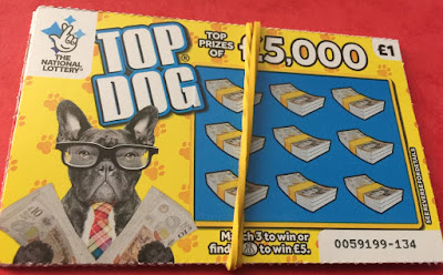 £1 Top Dog Scratchcard
