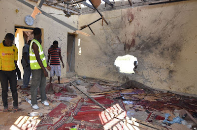 boko haram attack mosque maiduguri