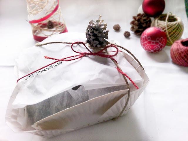 Pacchetto regalo fai da te per biscotti
