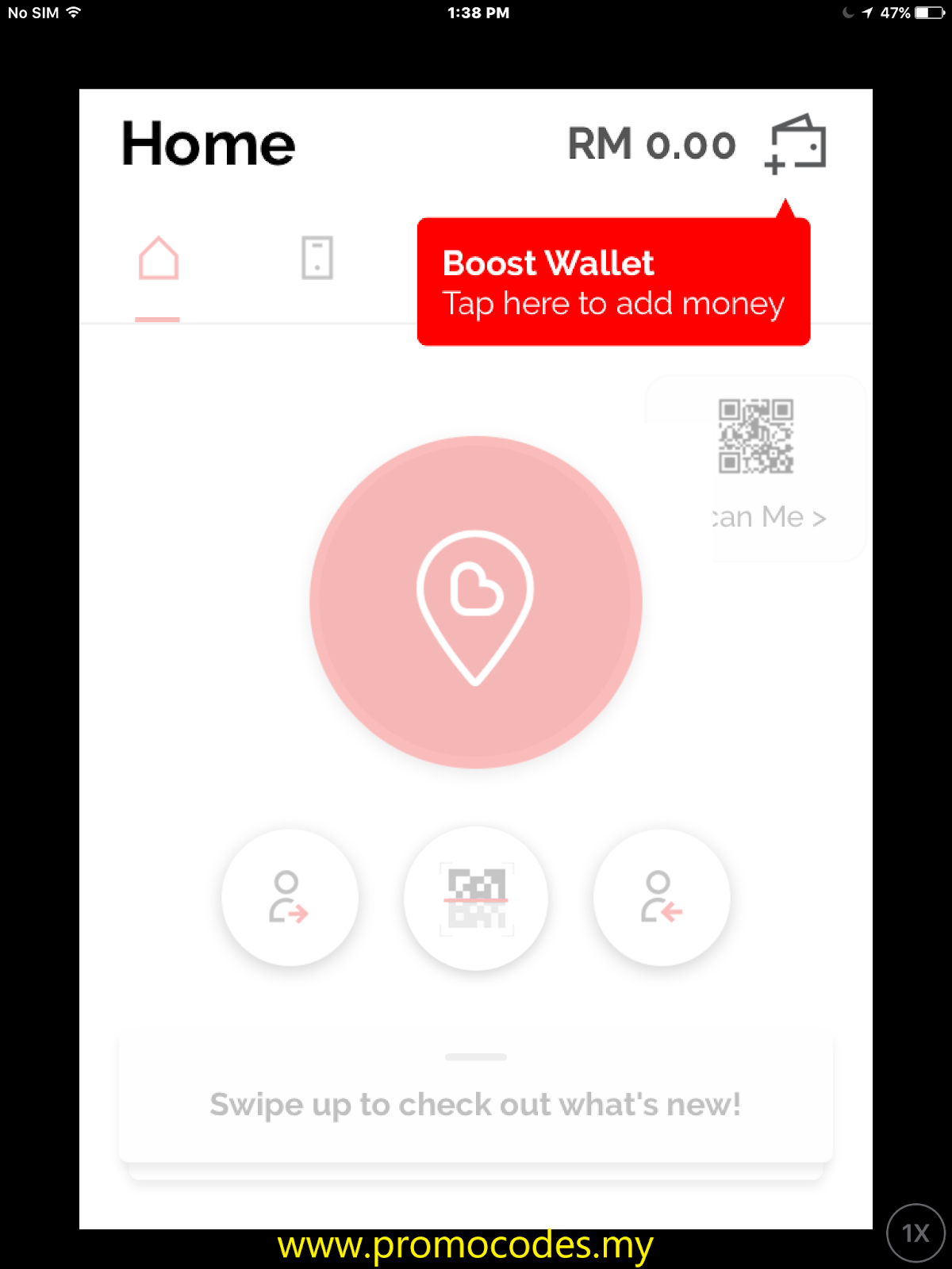 Register For Boost App : Step by Step - Promo Codes MY