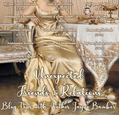 Unexpected Friends & Relations by Jayne Bamber - Blog Tour