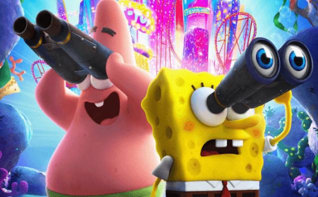 The SpongeBob SquarePants Movie Game Review-amandacoby.blogspot.com