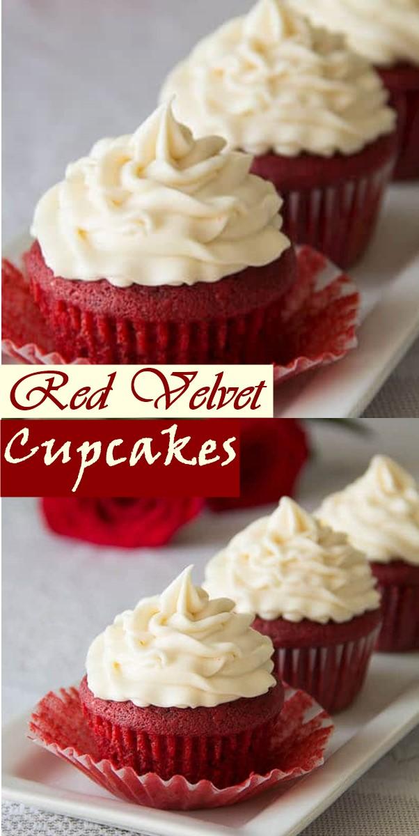 Red Velvet Cupcakes #Cupcakesrecipes