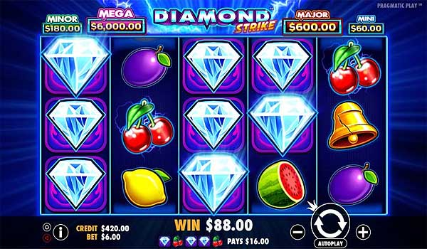 Main Gratis Slot Indonesia - Diamond Strike (Pragmatic Play)