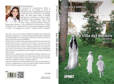 Copertina romanzo giallo La villa del mistero di Silvana Calabrese