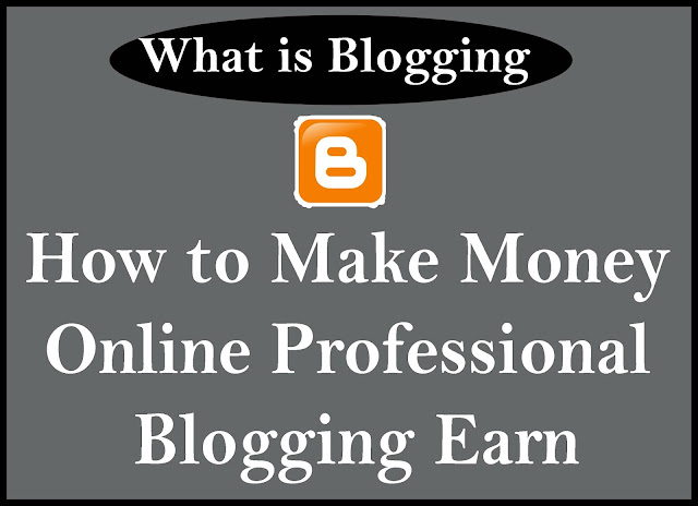 How to Make Money Online Blogging Earn 2020