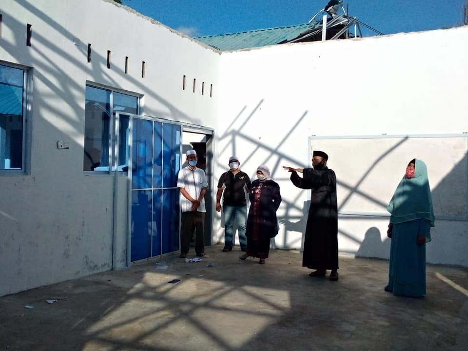 Tinjau Pondok Pesantren Al Khoir, Rahma : Untuk Memperbaiki Atap Yang Rusak Dianggarkan Pada APBD Perubahan 2021