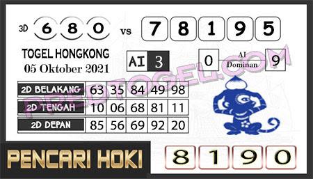 Prediksi Pencari Hoki Group Hk Selasa 05-Okt-2021