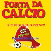 Logo Pringles: richiedi come premio sicuro una Porta da Calcio