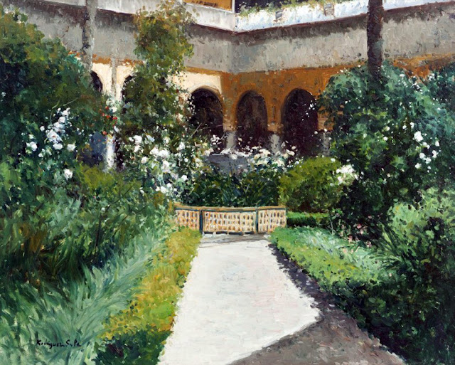 Rodriguez Sala, Paisajistas españoles, Paisajes de Rodriguez Sala, Pintor español, Pintores de Granada,  Pintores Granadinos, Pintor Rodriguez Sala