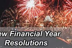 New Financial Year Resolutions