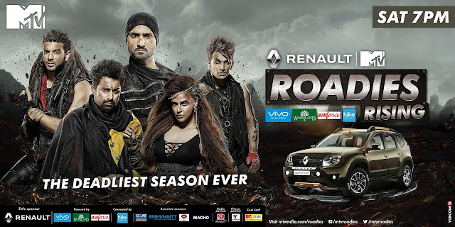 Buckle up as the deadliest season of Roadies Rising is all set to stun you this Saturday