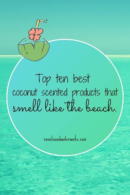 top coconut products; coconut oil products; ogx coconut; st. ives coconut; yankee candle coconut; bath & bodyworks coconut; jergens