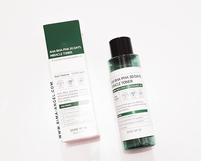Review Some by Mi AHA BHA PHA 30 Days Miracle Toner