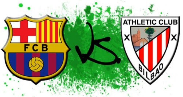 Barcelona vs Athletic Bilbao Pics before match