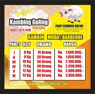 Harga Kambing Guling di Banjaran Bandung   2020, Harga Kambing Guling di Banjaran Bandung, Kambing Guling di Bandung, Kambing Guling,