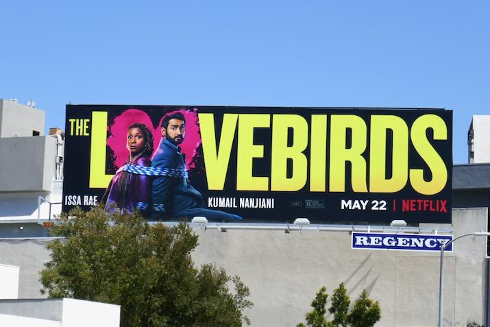 Lovebirds Netflix billboard