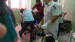 Innalillahi! Anggota Polisi Diserang dengan Sajam saat Berjaga di TPS