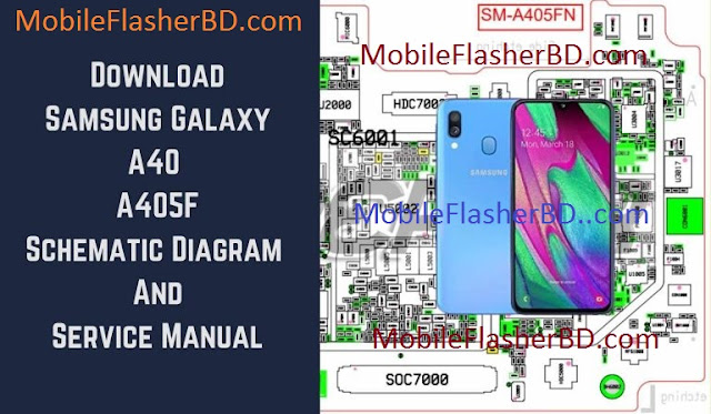 Samsung A40 A405f Schematic Service Manual Full Pack Free