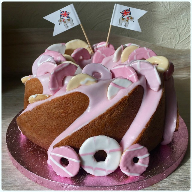 Party Rings Bundt Cake