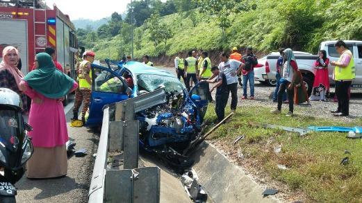 Nahas Kemalangan Lima Kenderaan 2 Cedera 1 Maut Di Kuala Kangsar