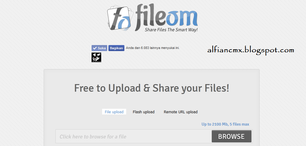 Cara Download di Fileom.com