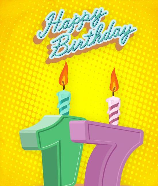 Geburtstagswünsche 17 Jahre