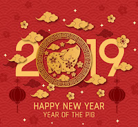 Chinese Horoscope 2019 - Year Of The Pig