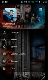 BBM MOD Warcraft v2.13.1.14 Apk Juli 2016 Gratis