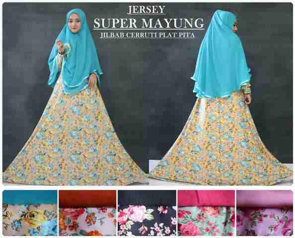 toko gamis dan hijab online, distributor gamis branded surabaya