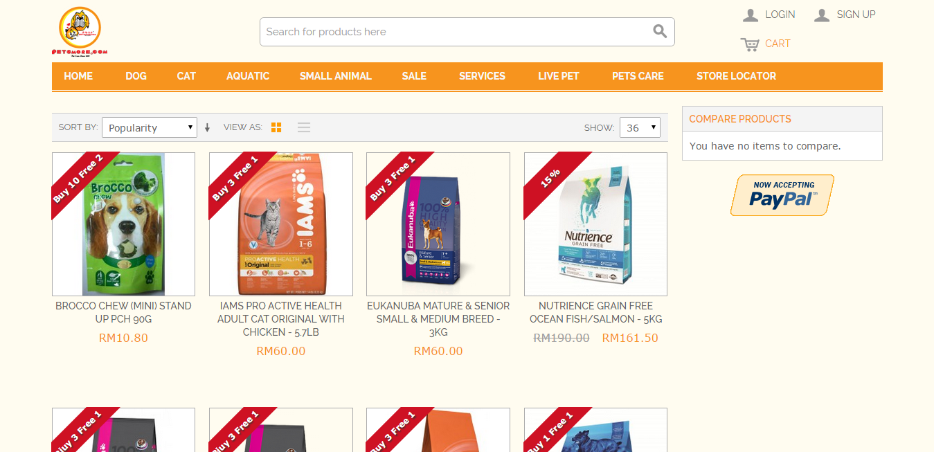 PetsMore.com online store