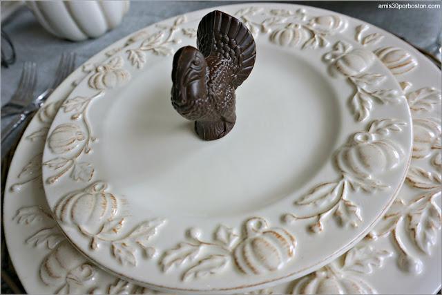 Pavo de Chocolate de la Cena de Acción de Gracias 2020