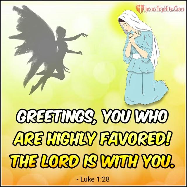 Today Bible Verse   08-12-20   Luke 1:26-38