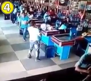 شاهد بالفيديو في سوبر ماركت في البرازيل .. هما كلهم كده ؟