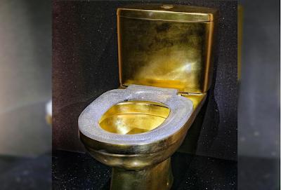 الإمارات تكشف عن مرحاض مرصع بالألماس بقيمة 1.28 مليون دولار !!