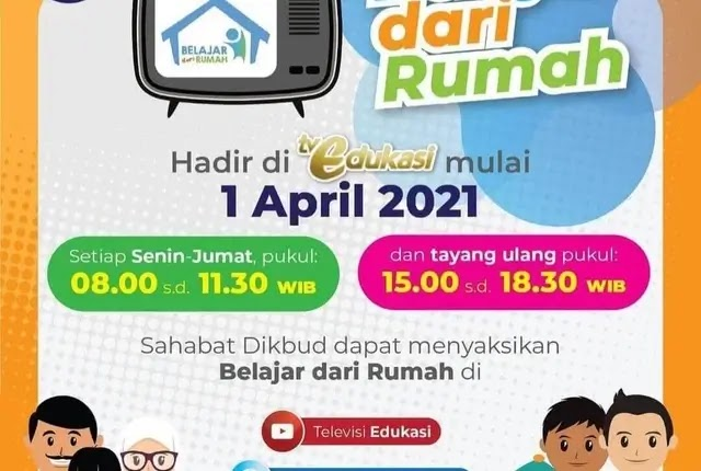BDR Tayang 1 April Di TV Edukasi